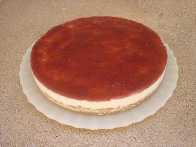 Cheesecake Diet de Frutas Vermelhas