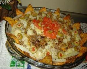 de nachos com doritos