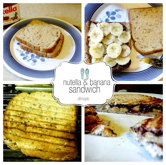 Viernes de indulgencia: nutella & banana sandwich