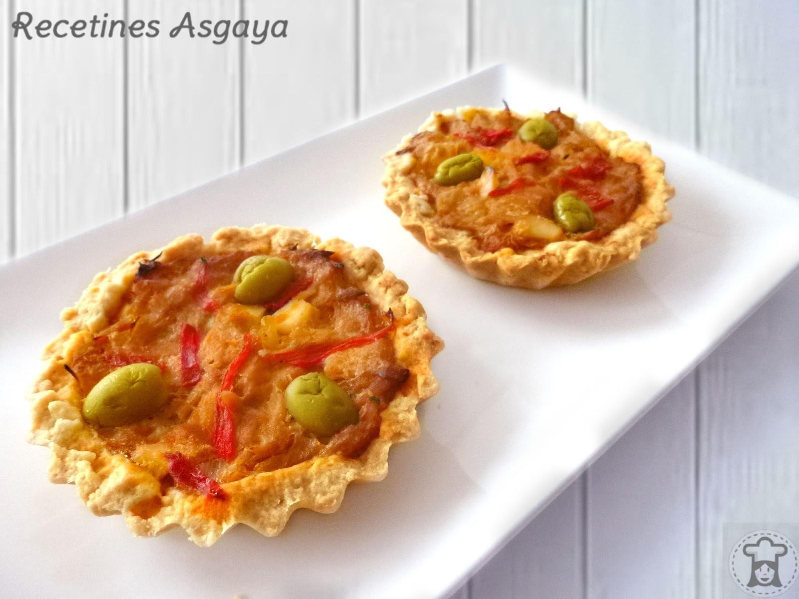 Tartaletas de Atún Encebollado
