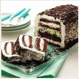 Κέικ Παγωτό με Oreo