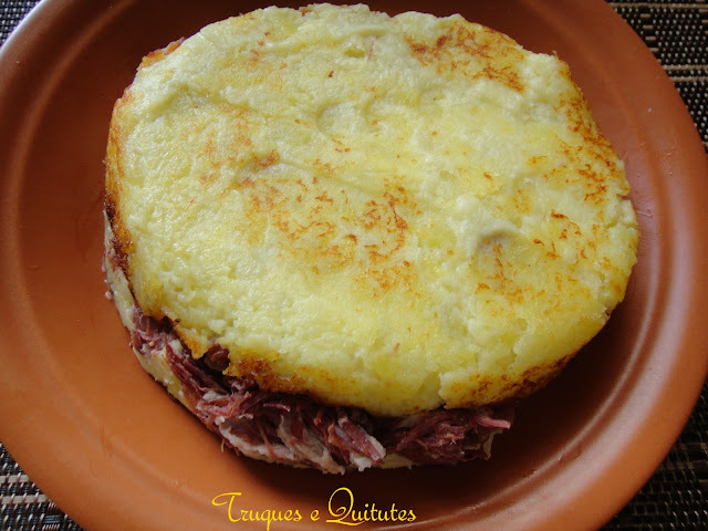 Batata suiça com carne seca Paineira