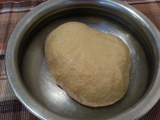 Whole Wheat Pav (bread) for Pav Bhaji