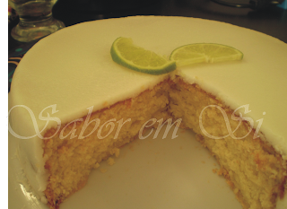 Bolo de Limão com Coco s/ Lactose