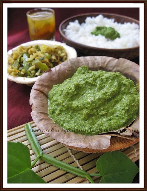Pirandai Thuvayal / Pirandai Chutney