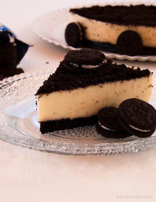 Cheesecake de Oreo {Sin Horno}