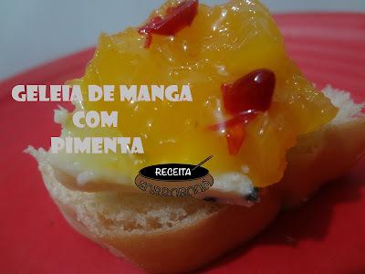 GELEIA DE MANGA COM PIMENTA