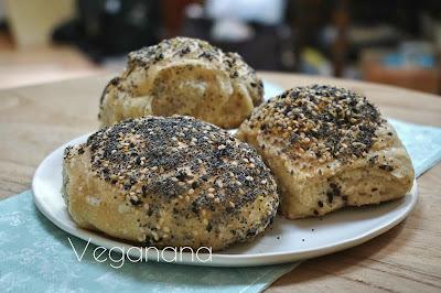 Pão de fermentação Lenta com Sementes