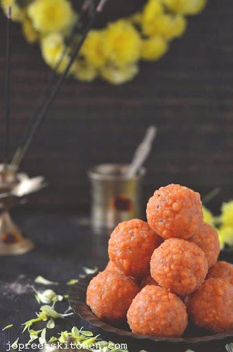 Boondi Ladoo - Diwali Sweets
