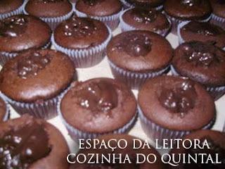 Espaço da Leitora com Liliane Chocolates e Cupcakes