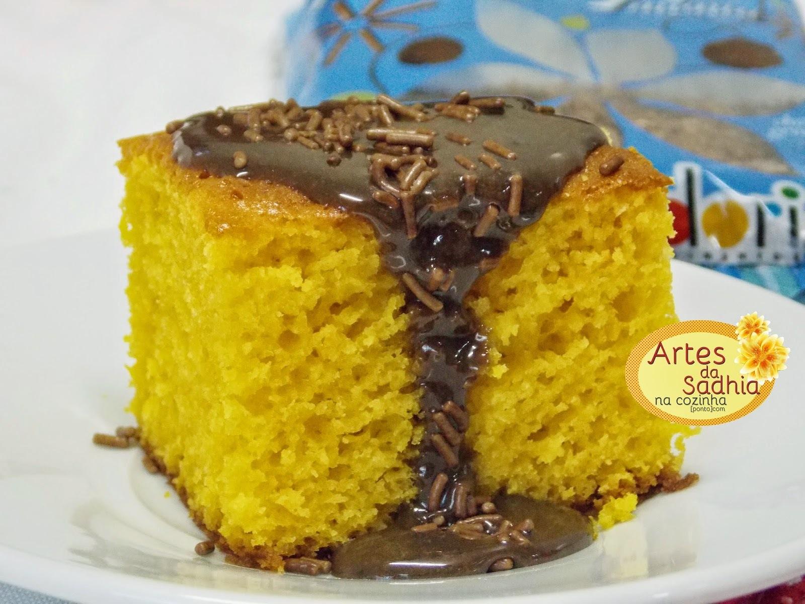 cobertura para bolo de chocolate caseira façil