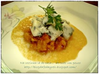 Nhoque de Batata com Espinafre e Azeite de Alho da Minha Mãe
