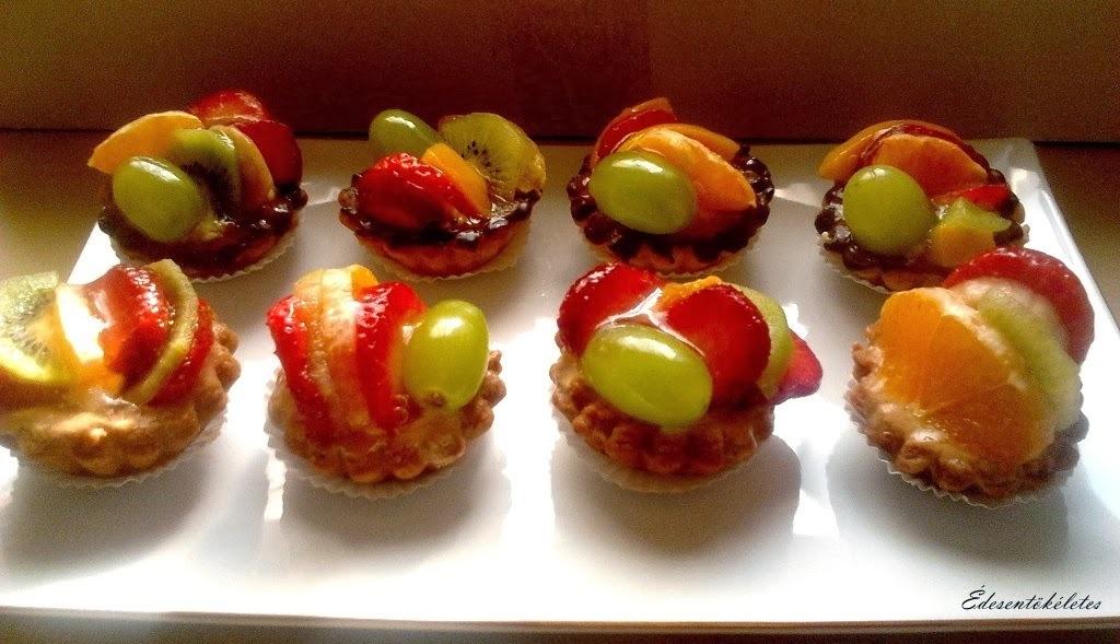 Diétás Gyümölcskosárkák