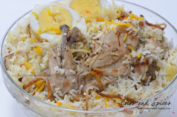 Chicken Biryani...