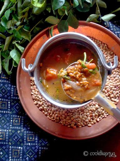 Kollu Rasam | Horsegram Tamarind Curry | Kongu Recipe | Step by Step