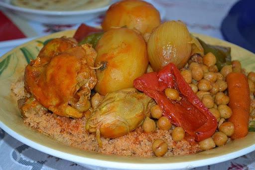 Recette couscous poulet