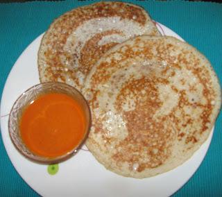 Thuppa Dosa (Ghee Dosa/Ghee pancakes - Mangalore/Udupi style)