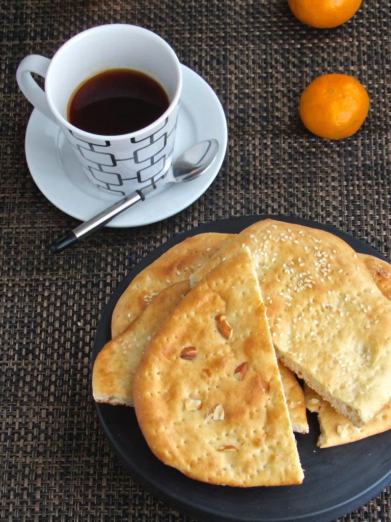 Sheermal  - A sweet Kashmiri Bread