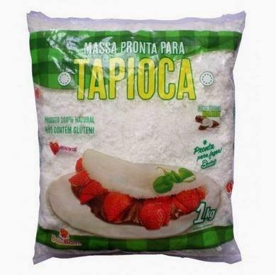 TAPIOCA. Receita com massa pronta de tapioca