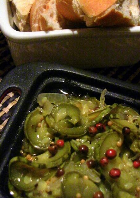 Comida Mediterrânea - Escabeche de Abobrinha