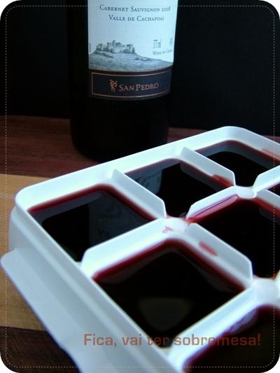 Congelar vinho
