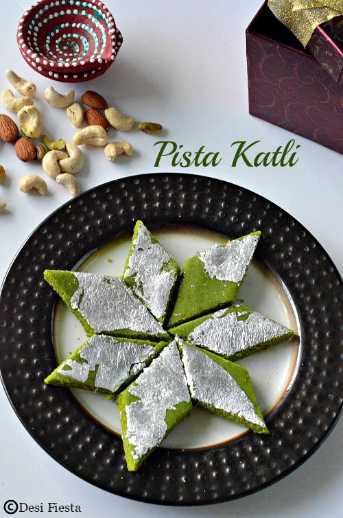 Pista Katli Recipe |Pista Burfi ~ Indian Festival Sweets