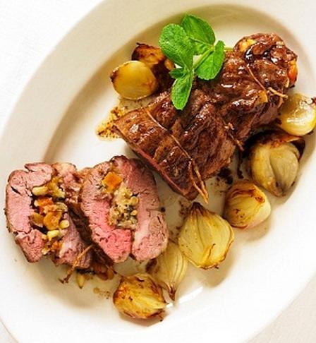Carne mechada al horno muy facil