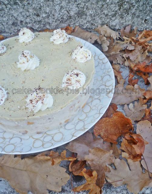 Tiramisu torta s marunom - dobrodošlica jeseni