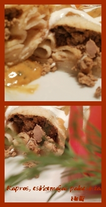 Online Vacsoracsata 1. hét  - Kapros, csirkemájas palacsinta
