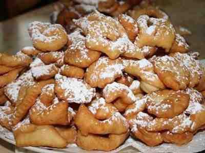 Scharwa Ou Merveilles D'Alsace (Beignets Alsaciens De Carnaval)...