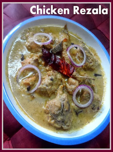 Bengal's Favorite Chicken Rezala on the eve of Durga Puja