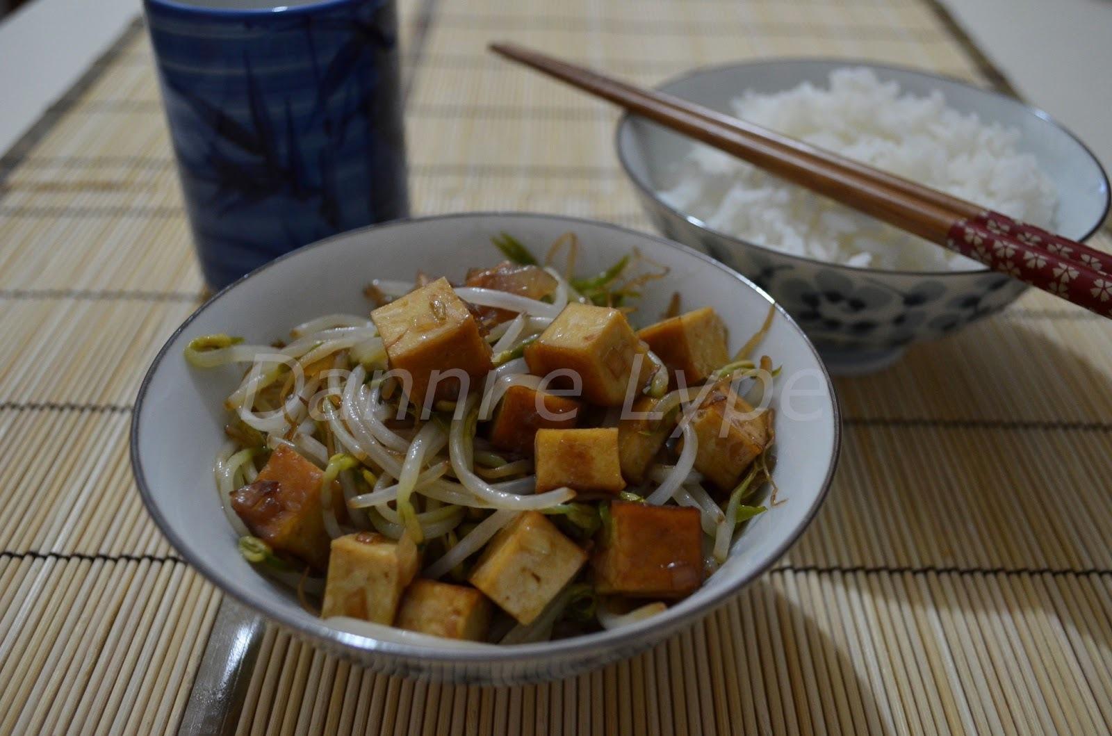 Moyashi com Tofu Defumado