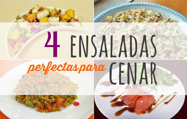 cuatro ensaladas para una cena de verano {invitadas} #ponunaensalada