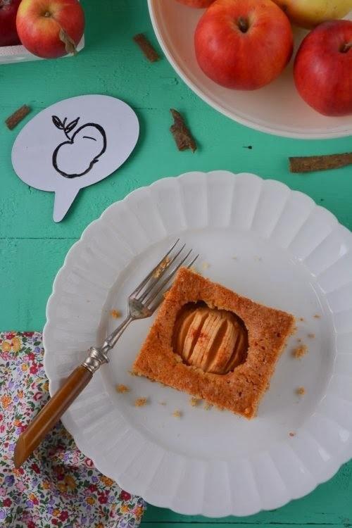 Almás pite mandulával
