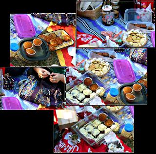 Muffins integrales de zanahoria con frutos secos. La ocasión: picnic de gastrobloggers!