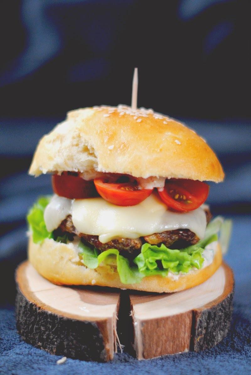 Domáci morčací burger