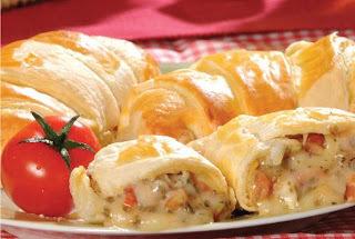 FAÇA & VENDA - Croissants de Presunto e Queijo