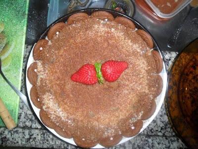 torta de bolacha recheada