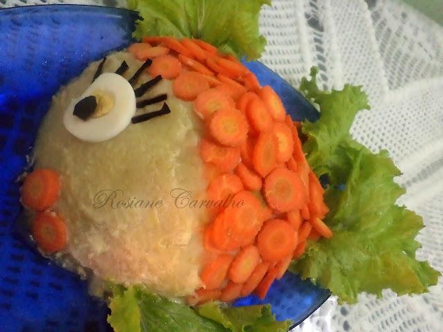 Torta de batata e atum Gomes da Costa