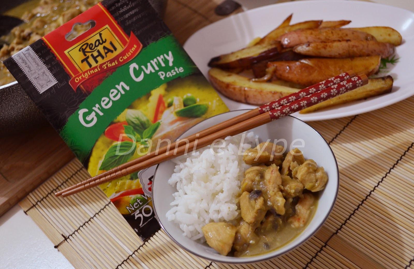 Frango Tailandês com Curry Verde