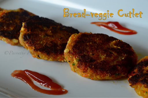 Bread-Veggie Cutlet | Instant Tea-time Snack