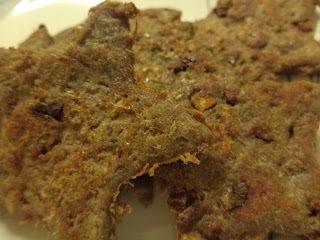 de sobremesa com sobras de biscoitos