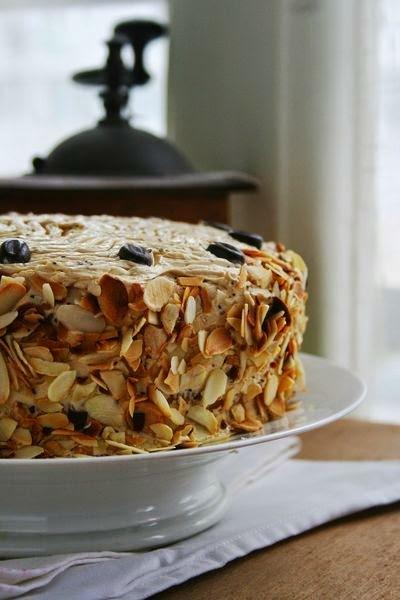 """Le """"Moka"""", layer cake ou gâteau à étages au café"""