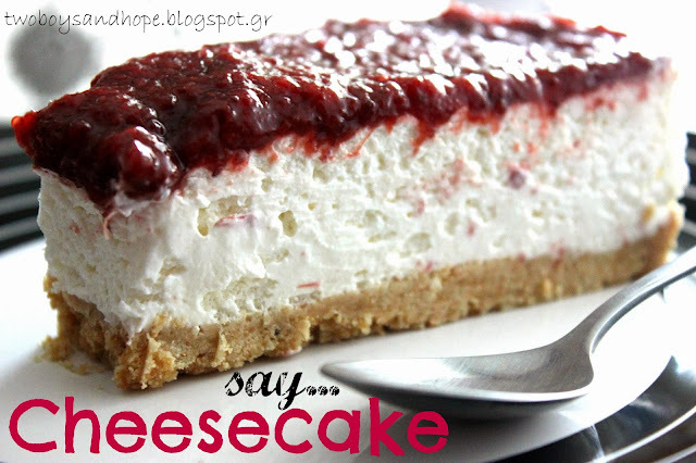 Say cheese... cake !!!