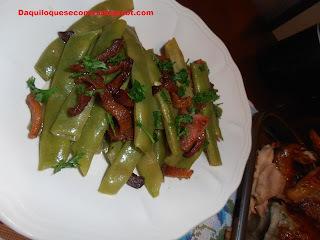 Feijão Verde Com Bacon