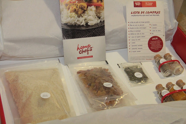 Frango a Indiana - Kit Home Chefs