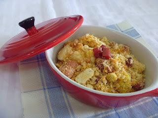 farofa com farinha biju e creme de cebola