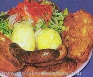 Cocina de Bolivia chorizos chuquisaqueños