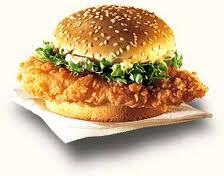 Zinger burger recipe