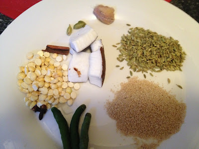 Cauliflower Peas Kuruma